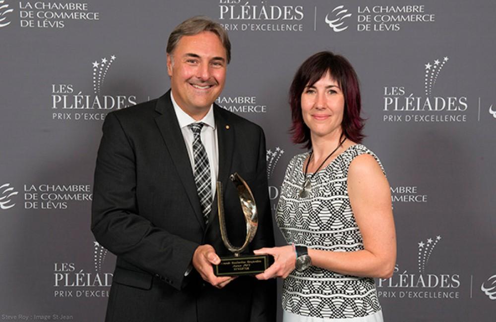 Synertek, finaliste du prix d'excellence Les Pléiades