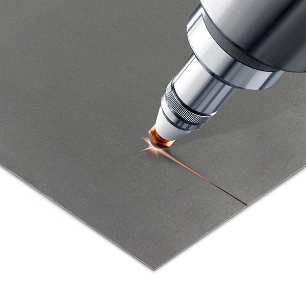 Decoupe laser de metal en feuilles aux finitions impeccables